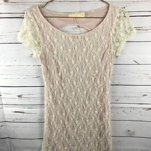 Pins and Needles Lace Dress Small Women's